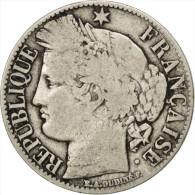 Gouvernement De Défense Nationale, 1 Franc Cérès 1871 K, Bordeaux, KM 822.2 - H. 1 Franco