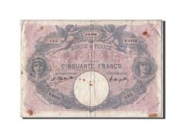 [#307339] 50 Francs Bleu Et Rose Type 1889, 1922, Fayette 14.35 - 1871-1952 Anciens Francs Circulés Au XXème