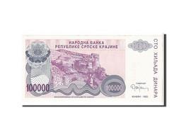Croatie, 100 000 Dinara Type 1993 - Croatie