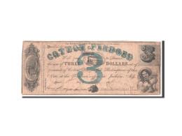 [#44860] Etats-Unis, Obsol�tes, Mississippi, Cotton Pledge, 3 Dollars 1.5.1862