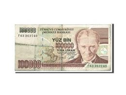 Turquie, 100 000 Lira Type 1970 - Turquie