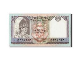 Népal, 10 Rupees Type Bir Bikram - Nepal