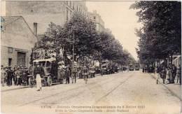 LYON – Journée Coopérative Internationale Défilé De Chars Coopératifs Fleuris, 1923 - Lyon