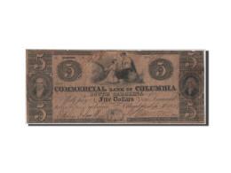 [#44698] Etats-Unis, Obsol�tes, South Carolina, Columbia, 5 Dollars 2.9.1854