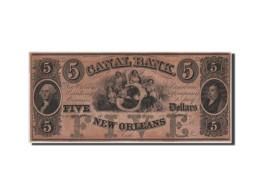 [#44747] Etats-Unis, Obsol�tes, Louisiana, Canal Bank, 5 Dollars 18__