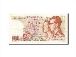 [#111536] Belgique, 50 Francs Type 1966 - [ 2] 1831-... : Royaume De Belgique