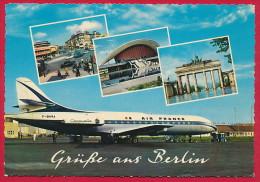 AK ´Flughafen Berlin' ~ 1963 - Autres