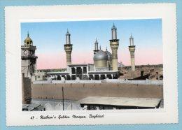Kathum´s Golden Mosque, Baghdad - Iraq