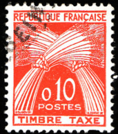 TAXE  N° 91 -  Gerbes  10c -  Oblitéré - Taxes