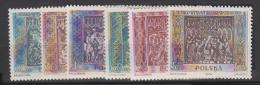 POLOGNE    1960               N°   1044 / 1049     COTE    12 € 50         (  Y 199 ) - Unused Stamps