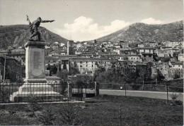 Abruzzo-l´aquila-ortona Dei Marsi Veduta Parte Citta´ E Monumento Ai Caduti - Italië