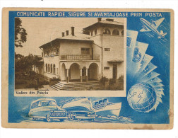 Romania ( 601-a ) - TRANSPORT, Panciu - Stationery - Used - 1957 - Interi Postali