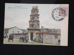 CARTE POSTALE - SINGAPOUR - C.p.voyagée EN 1904 - à Voir - P8792 - Singapore