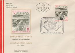 1961 - Europ Konferenz Des Verkehrsminister - - FDC
