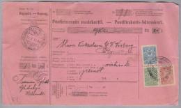 Finland Helsinski1915-10-11 Paketkarte Nach Rymättyla - Lettres & Documents