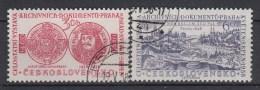 TSJECHOSLOWAKIJE - Michel - 1958 - Nr 1073/74 - Gest/Obl/Us - Tsjechoslowakije