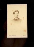 Photographie CDV 1867 Stephen THIEBAUT Photographe HELIOS 9 Rue Cadet BERNE BELLECOUR - Foto
