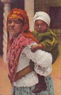 Afrique Du Nord     12     Mauresque Et Son Enfant - Cartes Postales