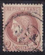 France N°51 - Oblitéré - TB - 1871-1875 Cérès