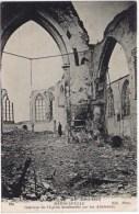 Cpa Qui Vive FRANCECAMPAGNE DE 1914-1915 RAMSCAPELLE Interieur De L Eglse Bombardé Par Les Allemands - Nieuwpoort