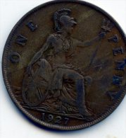 Great Britain 1 Penny 1927 - D. 1 Penny