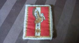 Insigne Tissu Avec Agrafes 1er Brigade Logistique - Unclassified