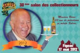 FIGEAC . 17 MAI 2012 . 30 EME SALON DES COLLECTIONNEURS . MAURICE BORIE . - Figeac