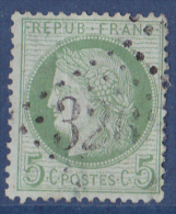 France N°53 - Oblitéré - TB - 1871-1875 Cérès