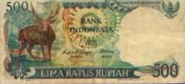 INDONESIE - 500 Roupies - Indonésie