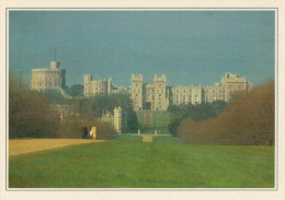 IL  CASTELLO  DI  WINDSOR     (NUOVA CON DESCRIZIONE DEL SITO SUL RETRO) - Windsor Castle