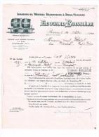 document de 1940- LOCATION DE WAGONS RESERVOIRS A DEUX FOUDRES - vin vigneron D34- MONTPELLIER A PIONSAT  D63