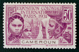 EXPOSITION COLONIALE DE PARIS 1931 - NEUF * - YT 150 - MI 113 - Kameroen (1915-1959)