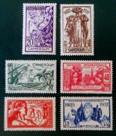 EXPOSITION INTERNATIONALE DE PARIS 1937 - NEUFS * - YT 153/58 - MI 116/21 - Neufs