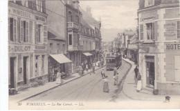 WIMEREUX RUE CARNOT TRAMWAY TRANSPORT - France