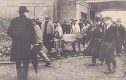 COURRIERES CATASTROPHE REMONTE DES VICTIMES DEPUTE BASLY - France