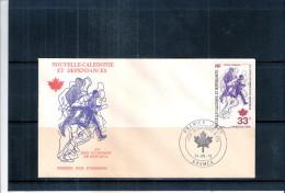 JO Montréal 76 -  FDC De Nouvelle-Calédonie (à Voir) - Ete 1976: Montréal