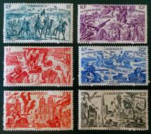 DU TCHAD AU RHIN 1946 - NEUFS * - YT PA 32/37 - MI 290/95 - Cameroun (1915-1959)