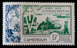 10 ANS DE LA LIBERATION 1954 - NEUF * - YT PA 44- MI 304 - Cameroun (1915-1959)
