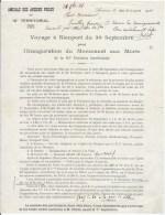 Amicale Des Anciens Poilus 1928 - Documents