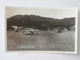 CPA 83 Baie De ST MANDRIER Hydravions Au Repos - Saint-Mandrier-sur-Mer
