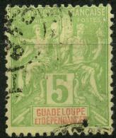 Guadeloupe (1900) N 40 (o) - Oblitérés