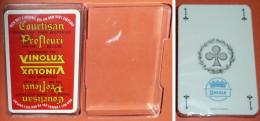Ancien jeu de 32 cartes NEUF, Publicitaire, pub VINOLUX Vins fins vin fin fines bouteilles, alcool bistrot