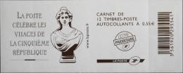 FRANCE CARNET De 12 Timbres à Composition Variable Neufs** N° 1518 - - Carnets