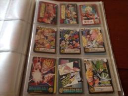 Lot De 9 Cartes DBZ - Stickers