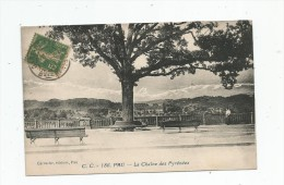 Cp , 64 , PAU , La Chaîne Des PYRENEES , Voyagée 1921 - Pau