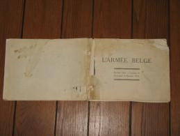 """Livre """" L'Armée Belge"""" En 1935 - Sans Couverture Et Avec La Page De Garde Endommagée, Voir Scans (hh) - War 1939-45"""