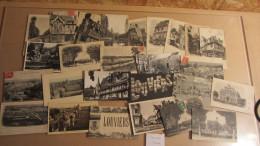 Lot De 26 Cartes Anciennes De LOUVIERS - Louviers