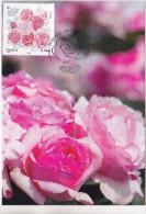 Carte Maximum 2015 -  Lyon Roses 2015 - 1er Jour Le 29.05.2015 à 69 Lyon (voir Recto/verso) - Cartes-Maximum