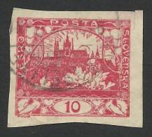Czechoslovakia, 10 H. 1918, Sc # 3, Mi # 3, Used - Czechoslovakia
