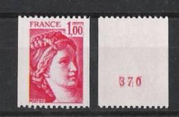 1981a** Avec N°. Luxe - France